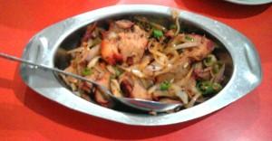 Roast Pork Chili at Eau Chew