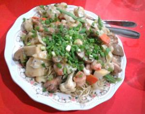 Josephine Noodles at Eau Chew