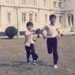 My elder brother and I - Victoria Memorial