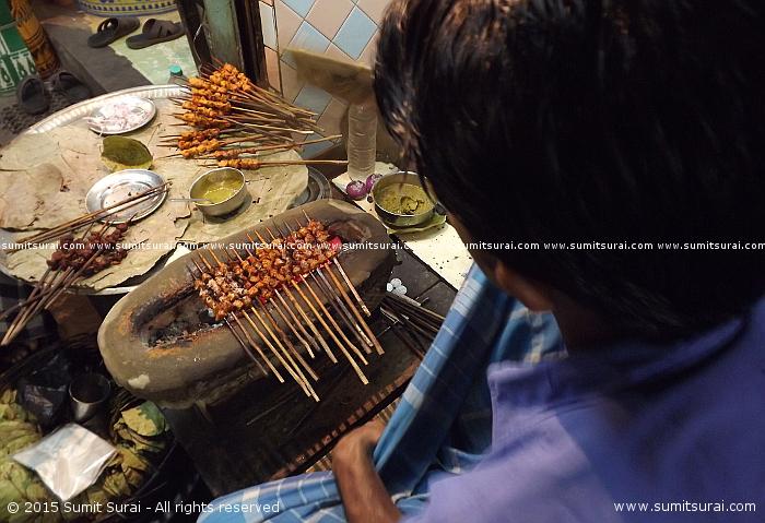 Kheeri kebabs at Haji Abdul Hamid's shop