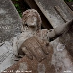 Beautiful sculpture at Greek Cemetery