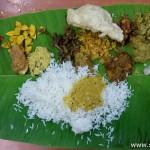 Onam lunch Calcutta