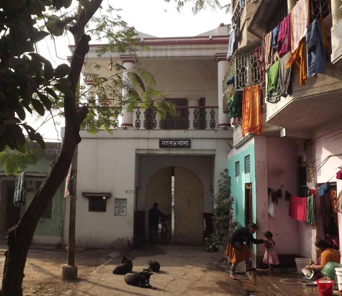 The Nahabatkhana From Outside