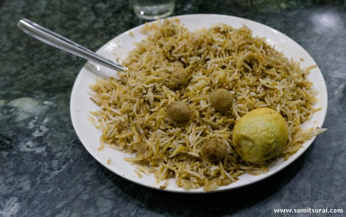 Ramzan special Beef Awadhi Biryani at Aminia
