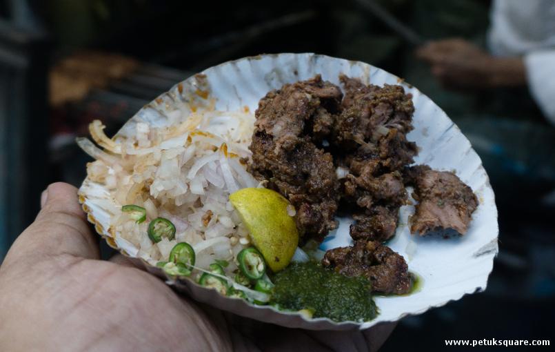 The boti kebabs