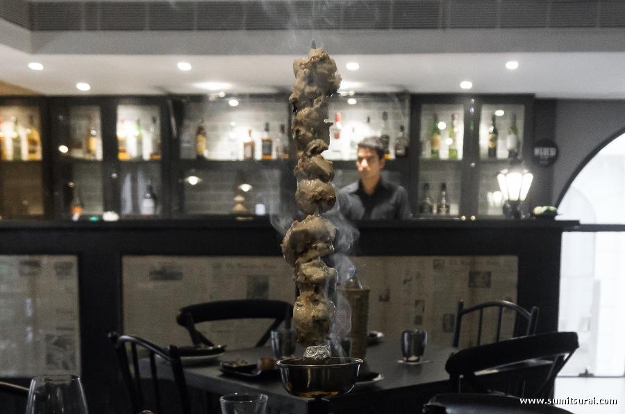 Talwari Murg Malai Kebab