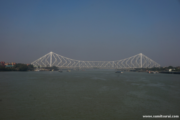The iconic Howrah Bridge or Rabindra Setu