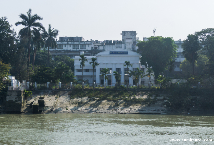 BNR House, where the exiled Nawab of Oudh Wajid Ali Shah used to live